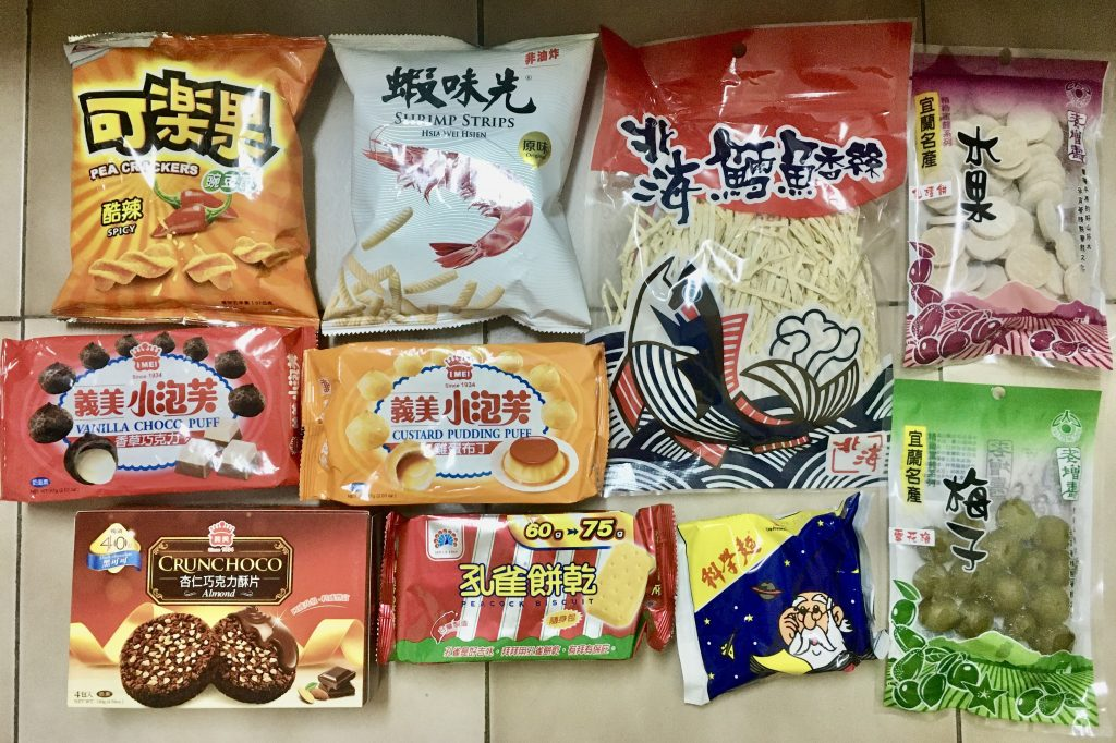 Chinese snacks
