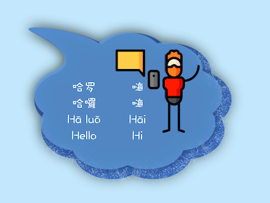 hello, hi in Chinese