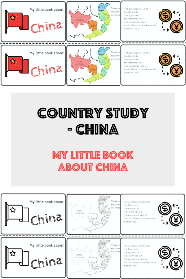 Country study - China cover