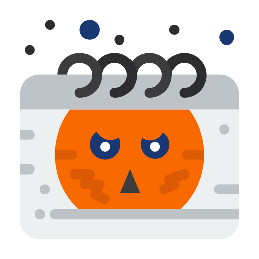 calendar Halloween