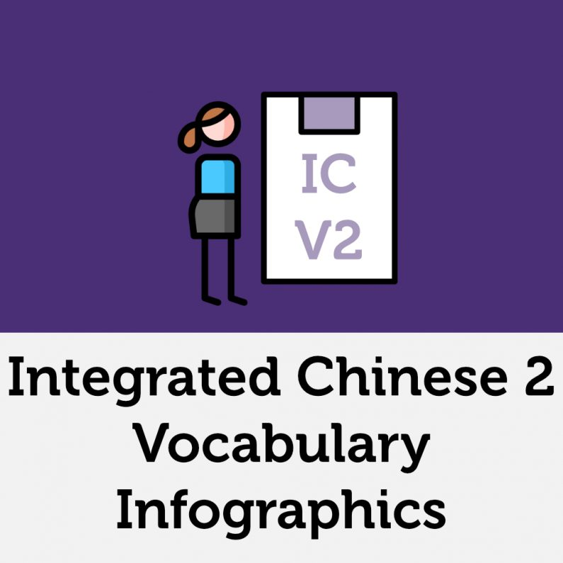 Integrated Chinese Volume 2 Lesson 11 Vocabulary